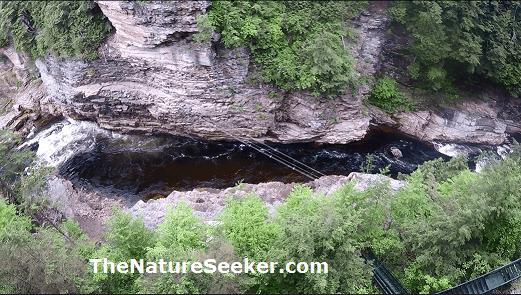 ausable chasm canyon photo