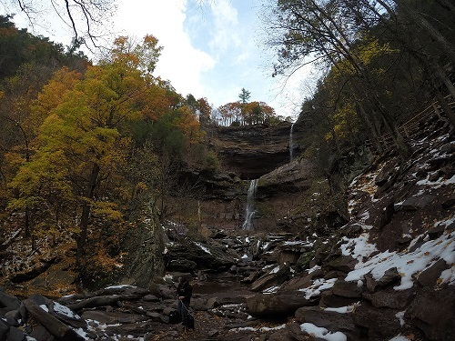 kaaterskill falls autumn