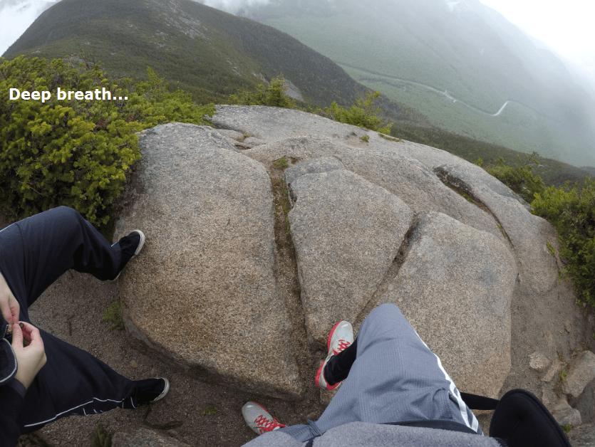 cannon mountain hiking trail summit