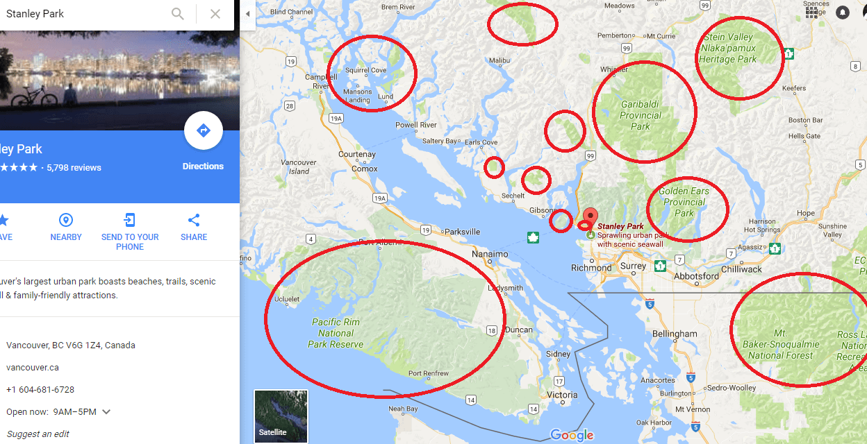places to hike near vancouver