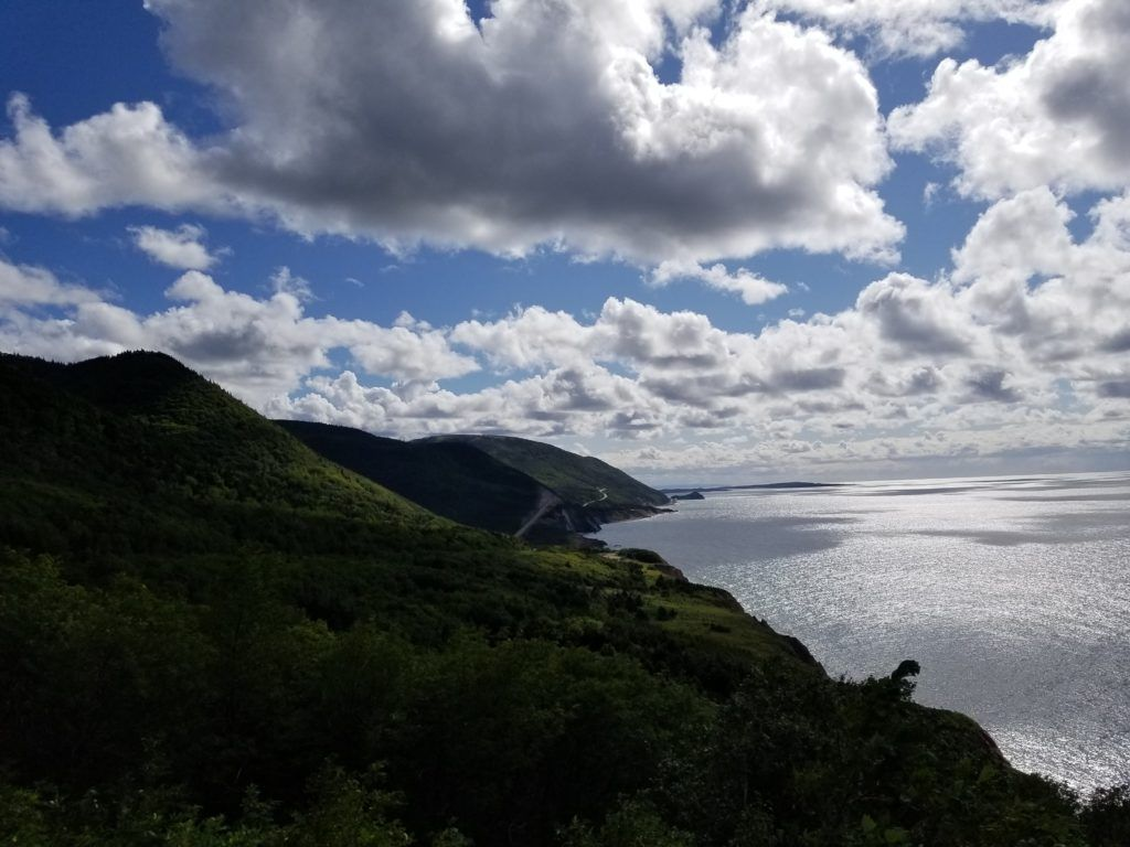 cabot trail scenic drive western end