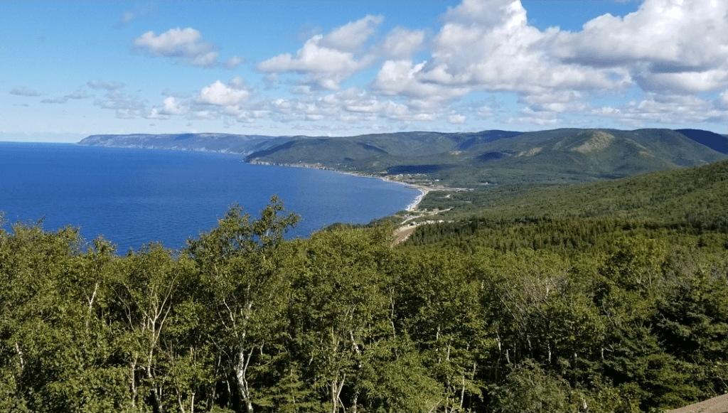 cabot trail scenic overlook