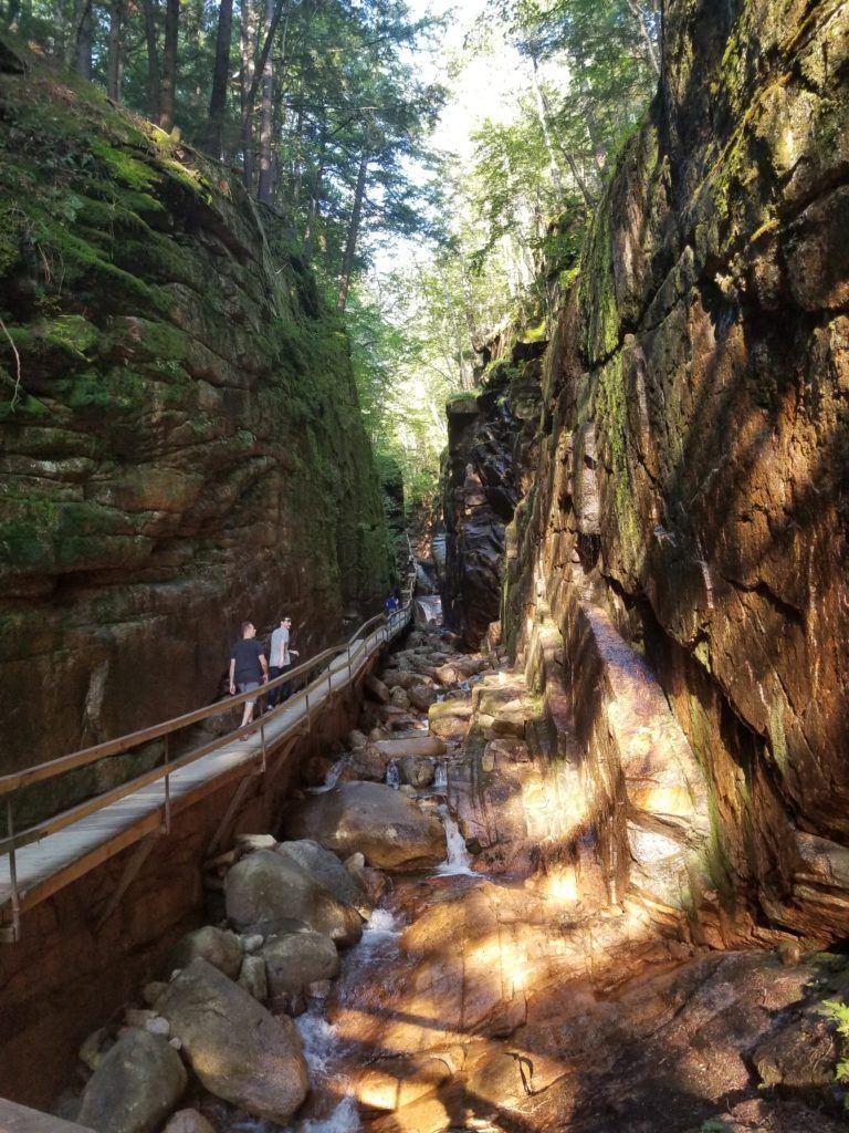 flume gorge trail entrance