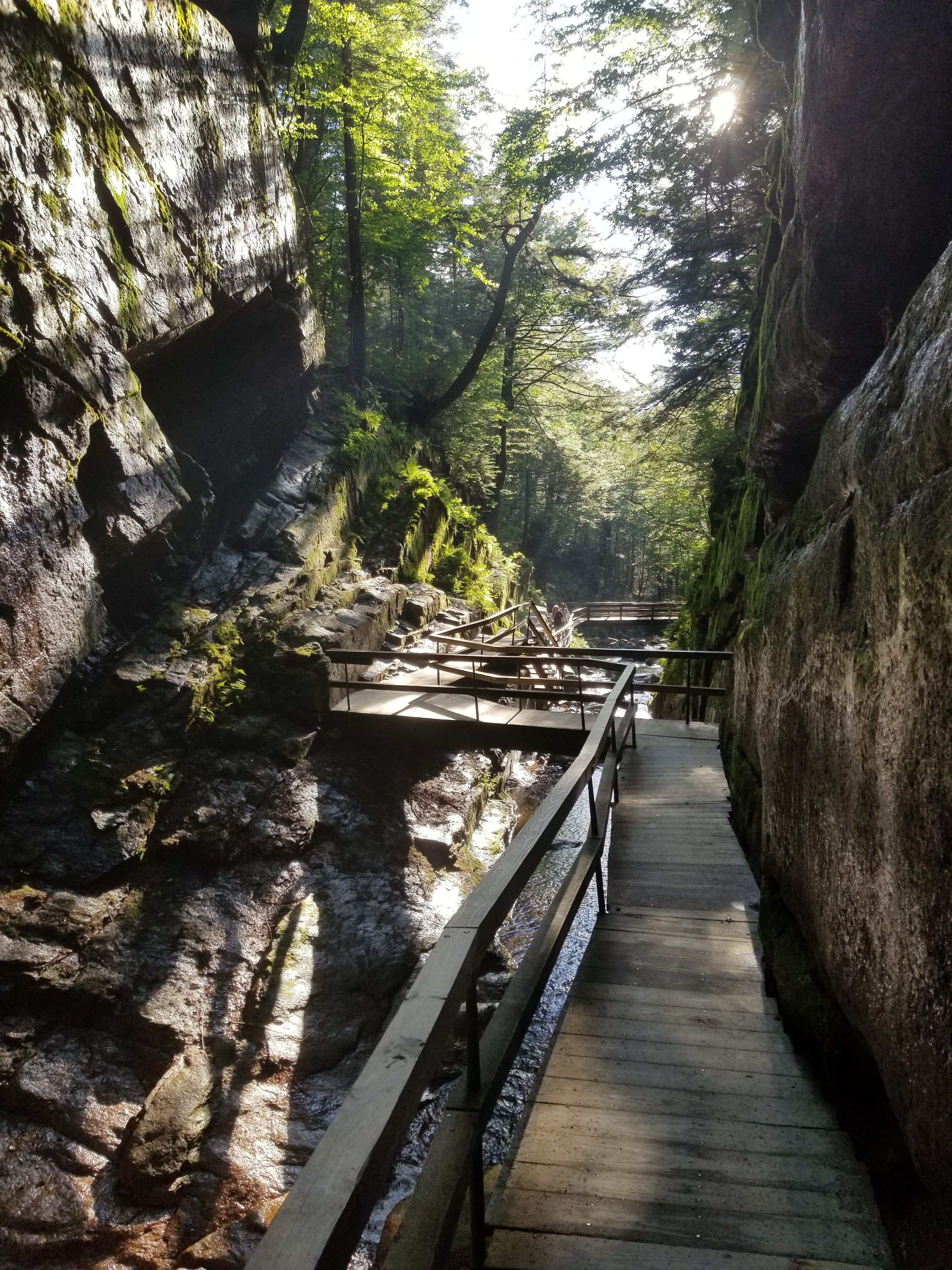 flume gorge state park picture
