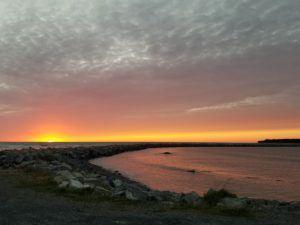 gros morne rocky harbor sunset