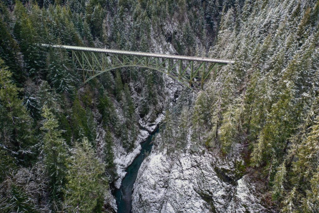 high steel bridge vs vance creek bridge