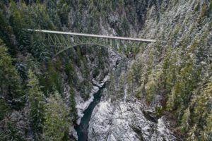 high steel bridge vs vance creek bridge