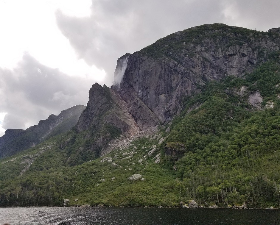 western brook pond ferry ride