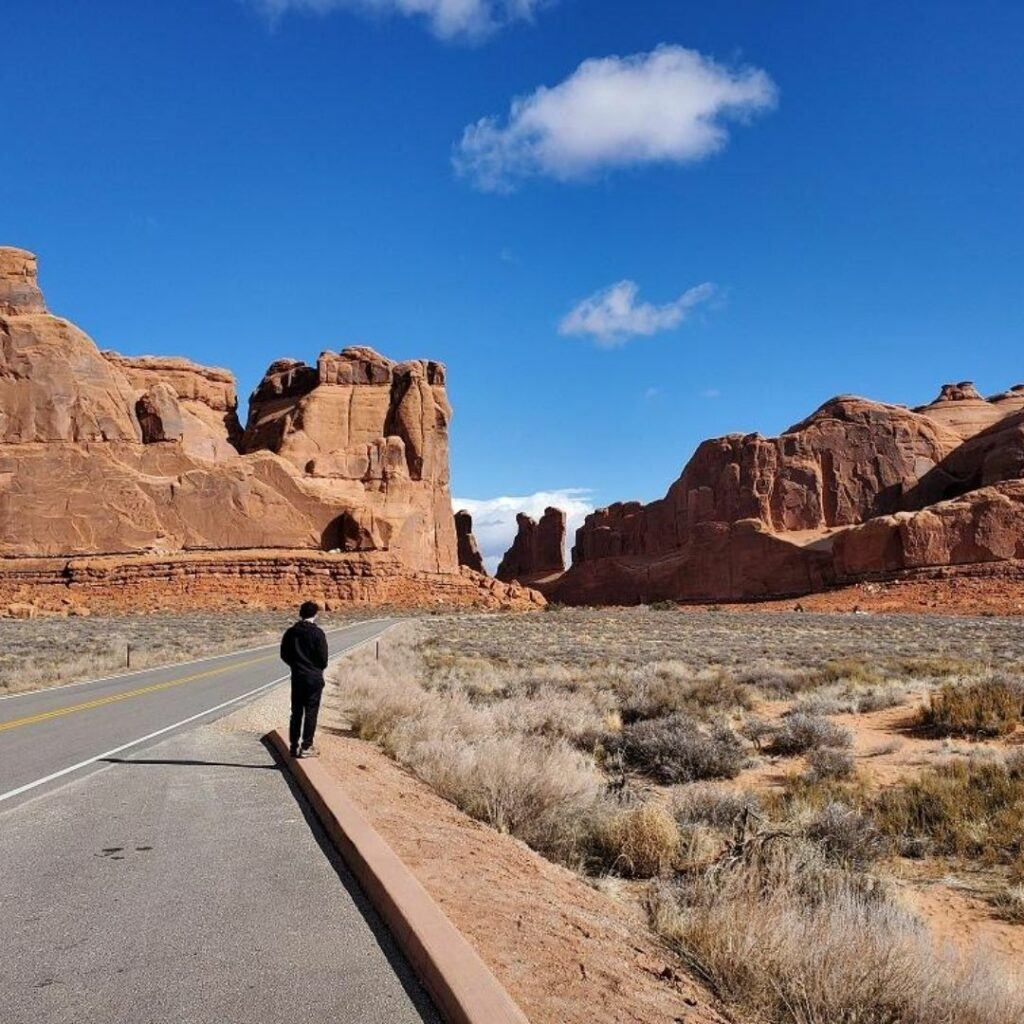 arches national park scenic drive