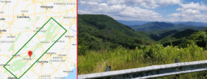 blue ridge mountains scenic drive united states