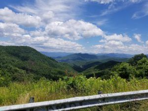 blue ridge mountains scenic road