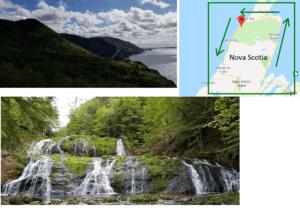 cabot trail scenic drive in north america