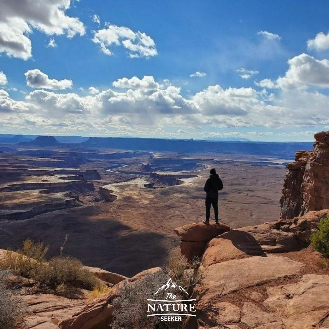 canyonlands national park scenic drive north america