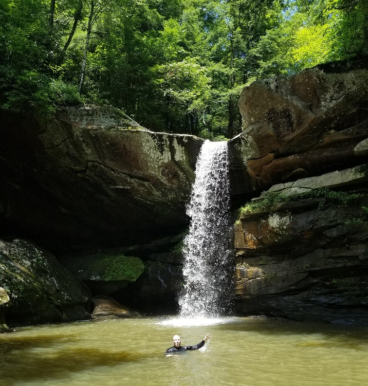 eagle falls daniel boone national forest