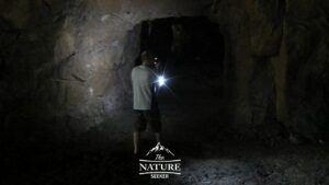 exploring widow jane mine in the dark
