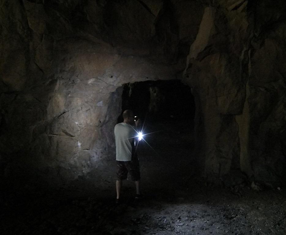 how dark it is in widow jane mine