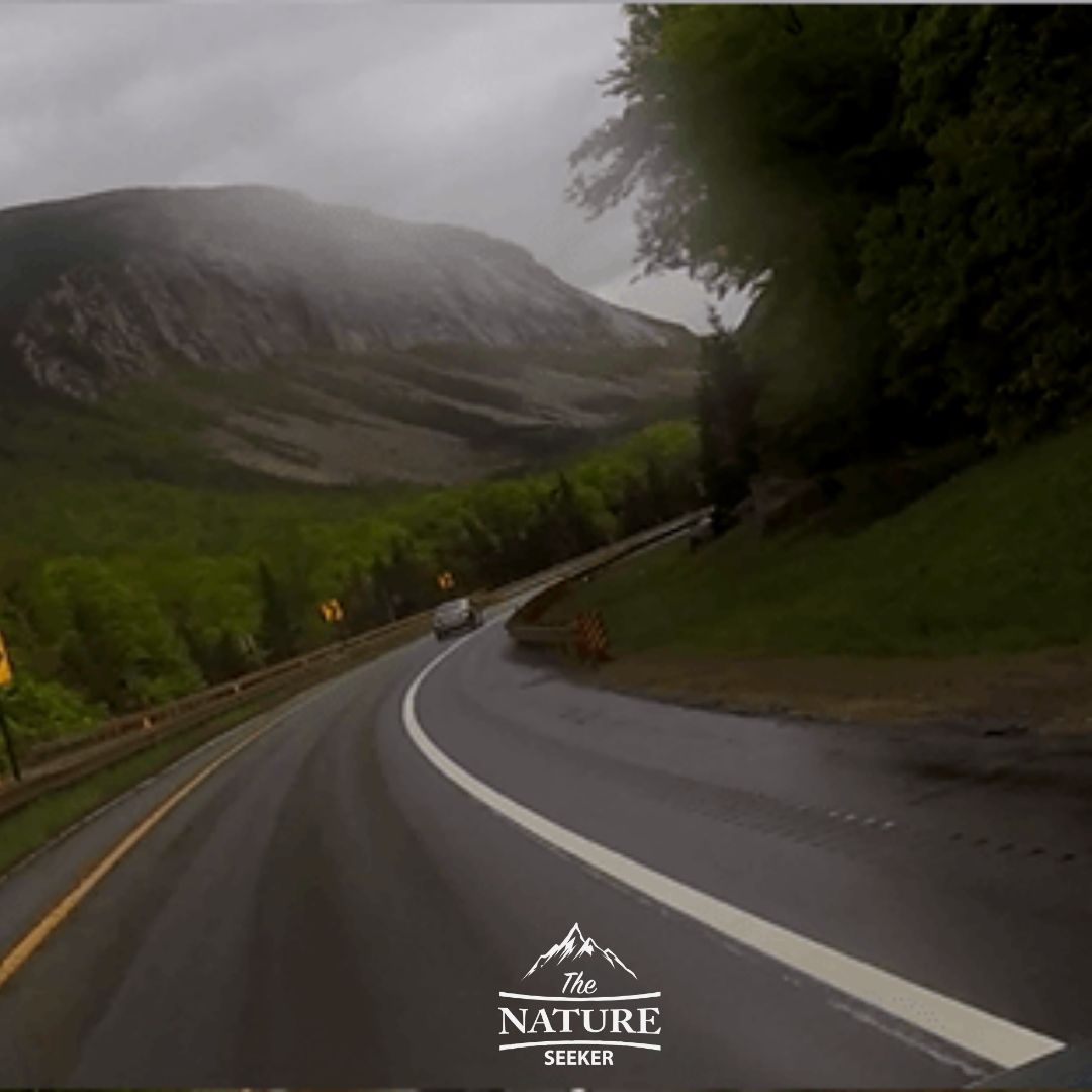 interstate 93 scenic drive through the white mountains