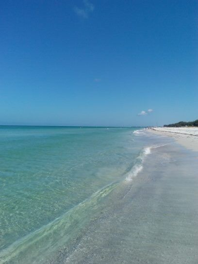 coquina beach florida during the day