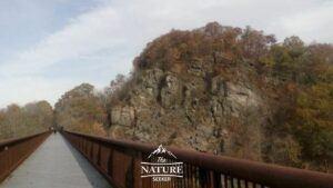 rosendale trestle bridge near widow jane mine