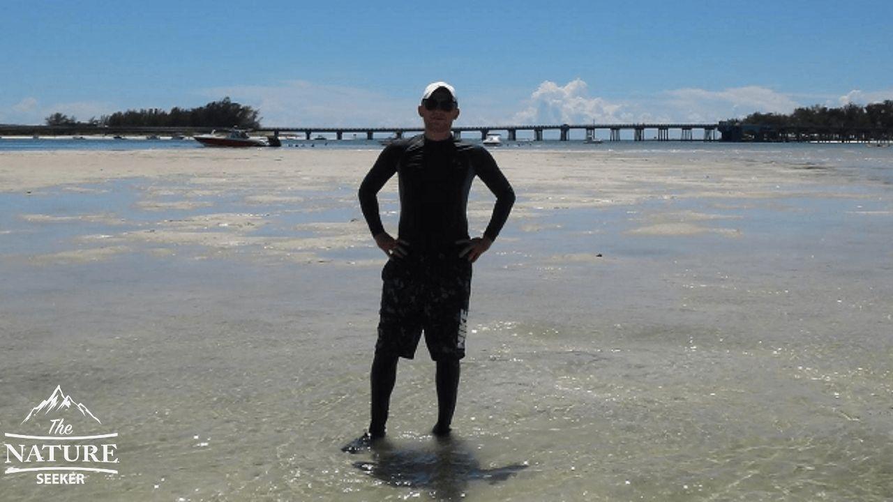 sandbar near bradenton beach florida