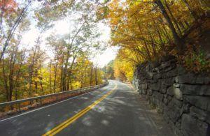 scenic drive in the catskills