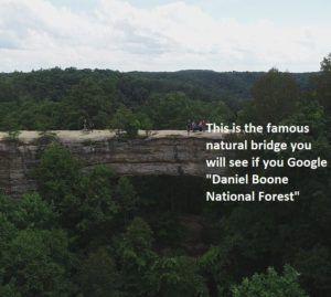 skybridge natural bridge state park kentucky