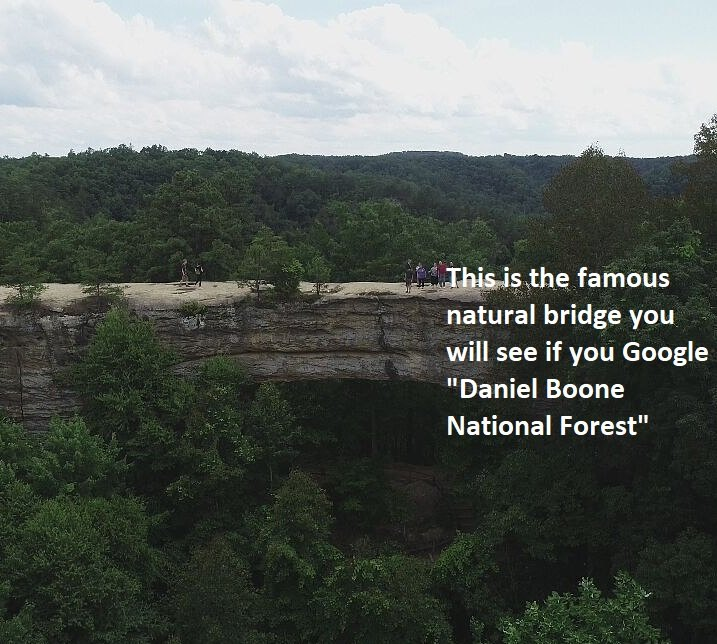 skybridge natural bridge state park daniel boone national forest