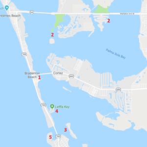 where to kayak in bradenton