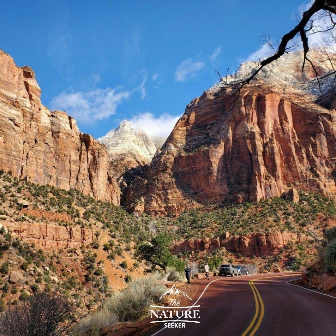 zion national park scenic drive north america