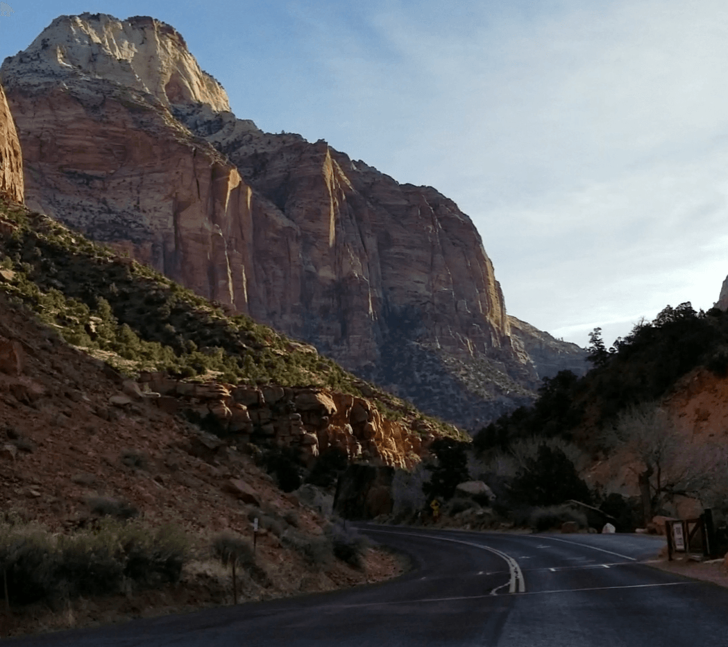 zion national park scenic drive
