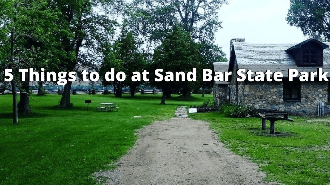 5 Things to do at Sand Bar State Park (Vermont)