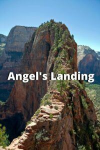 angel's landing zion