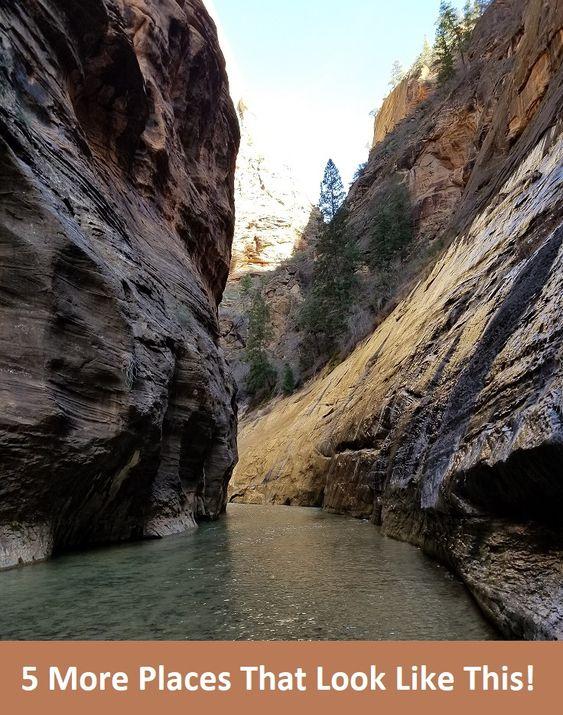 5 alternatives hikes to the narrows