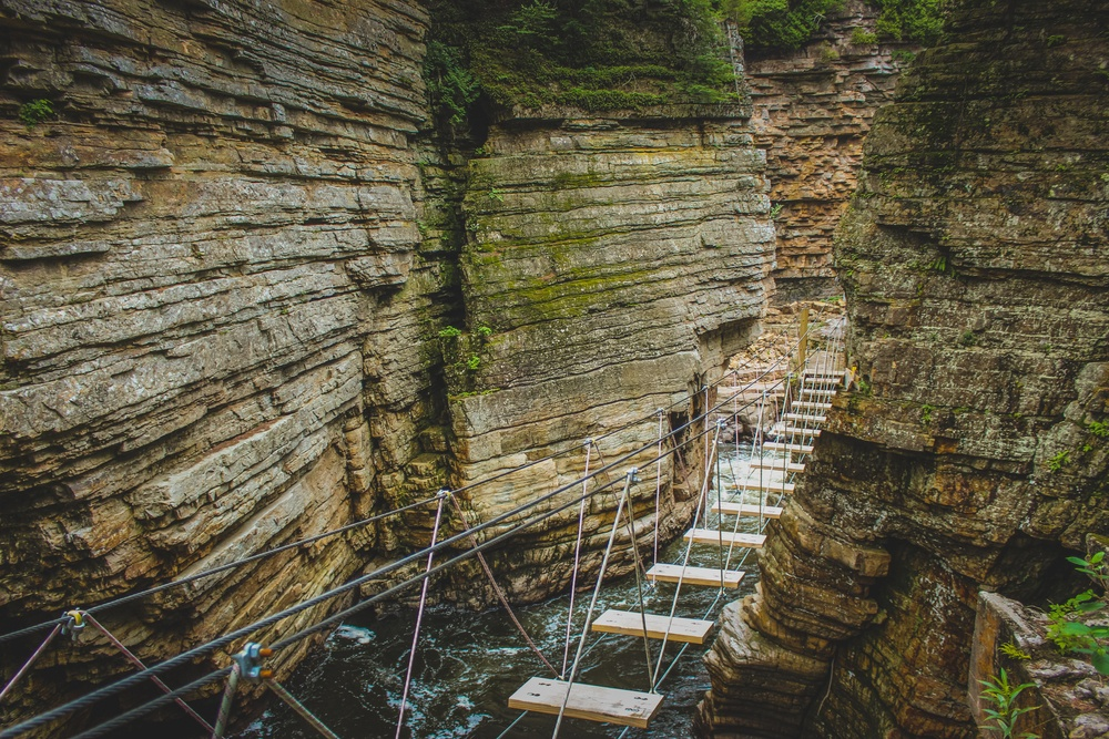ausable chasm obstacle course