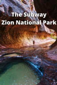 the subway zion national park