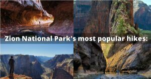 zion national park most popular hikes