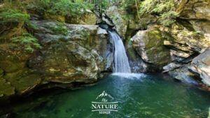 bingham falls waterfall and swimming hole