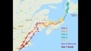 eastern canada road trip itinerary and map 01