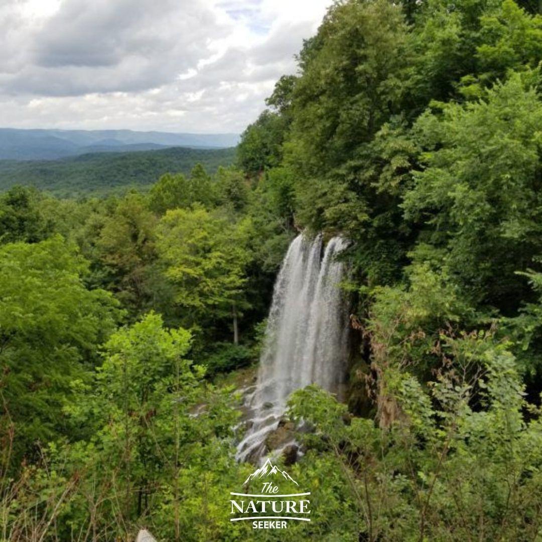 falling spring falls in the appalachian mountains 03