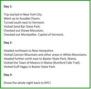 fun road trip ideas