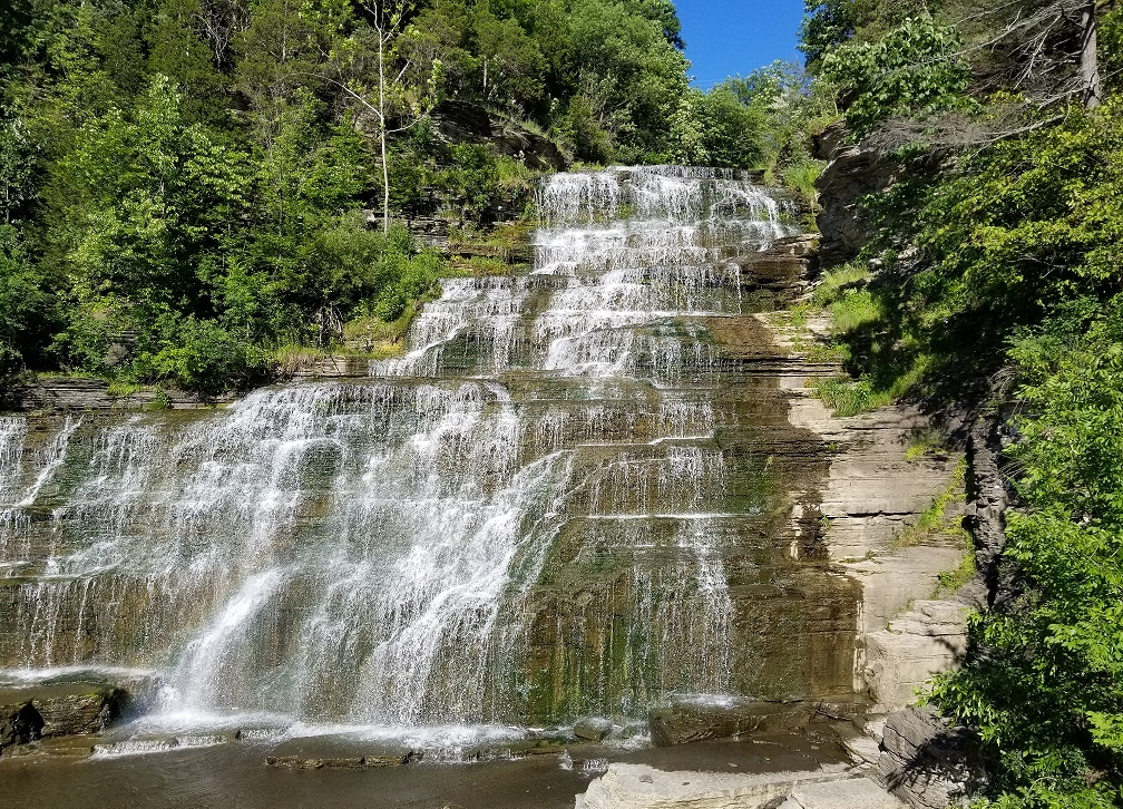 hector falls in finger lakes