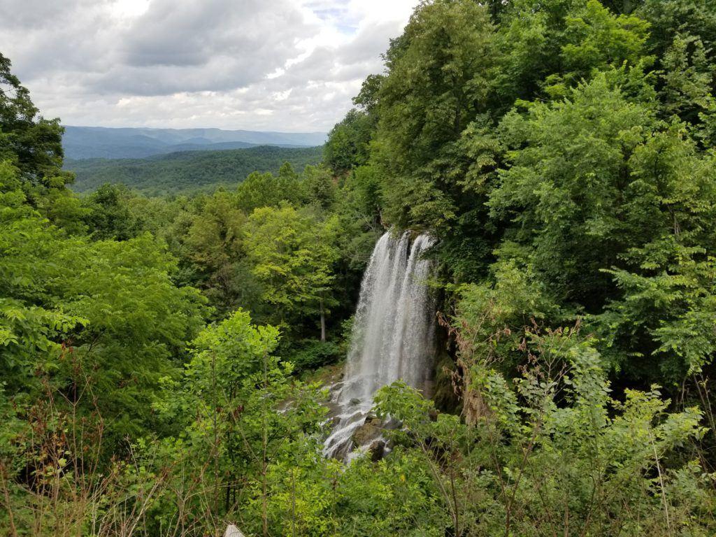 falling spring falls in blue ridge virginia