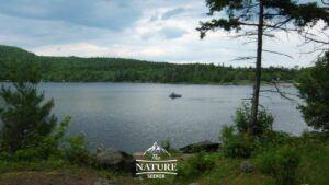 hiking around north south lake