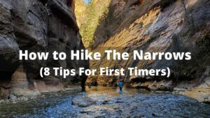 how to hike the narrows for first time visitors
