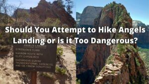 is hiking angels landing dangerous