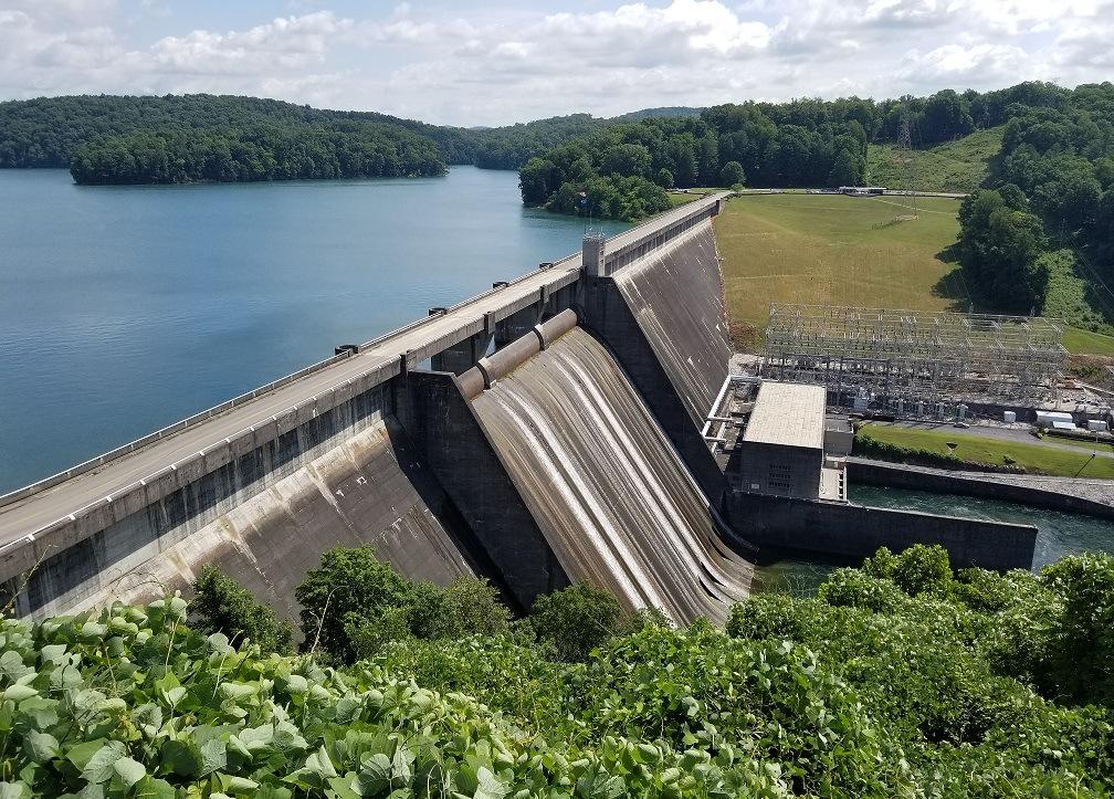 melton hill dam photo
