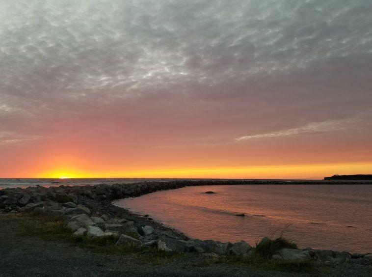new foundland sunset photo