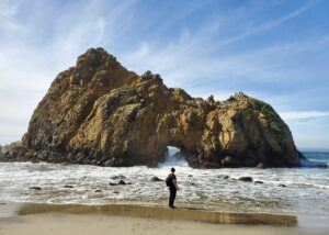 pfeiffer beach at big sur