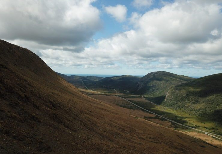photo of tablelands in gros morne