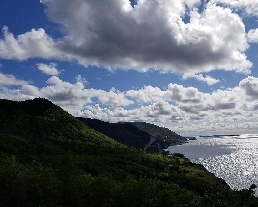 photo of the cabot trail